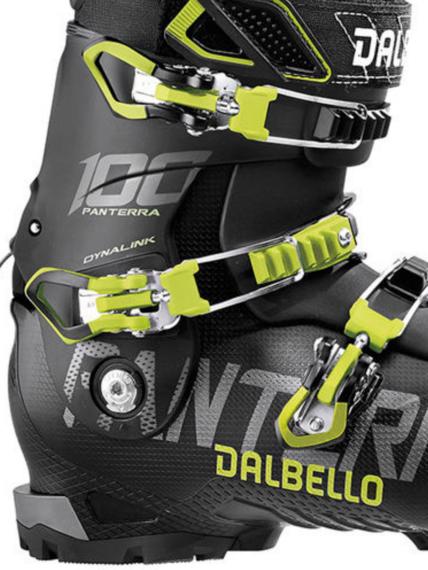 Panske lyzarske boty Dalbello Panterra 100 BlackAcid Yellow.png