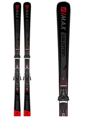 Sjezdove lyze Salomon E SMAX 12 + Z12 GW F80 Bk (6).png