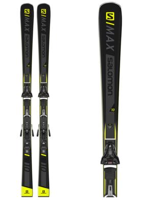 Sjezdove lyze Salomon E SMAX 10 + Z12 GW F80 BK (1).png