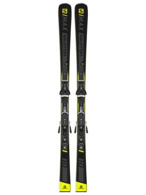 Sjezdove lyze Salomon E SMAX 10 + Z12 GW F80 BK (2).png