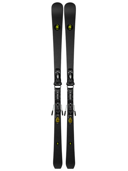 Sjezdove-lyze-AK-Ski-Piste-Yellow-deska-Vist-Speedlock-Pro-16Li-vazani-Vist-412-Half-Yellow-2021-2