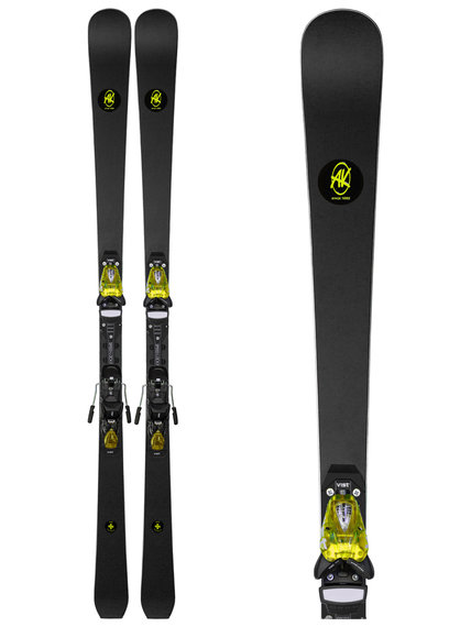 Sjezdove-lyze-AK-Ski-Piste-Yellow-deska-Vist-Speedlock-Pro-16Li-vazani-Vist-412-Yellow-2021-1