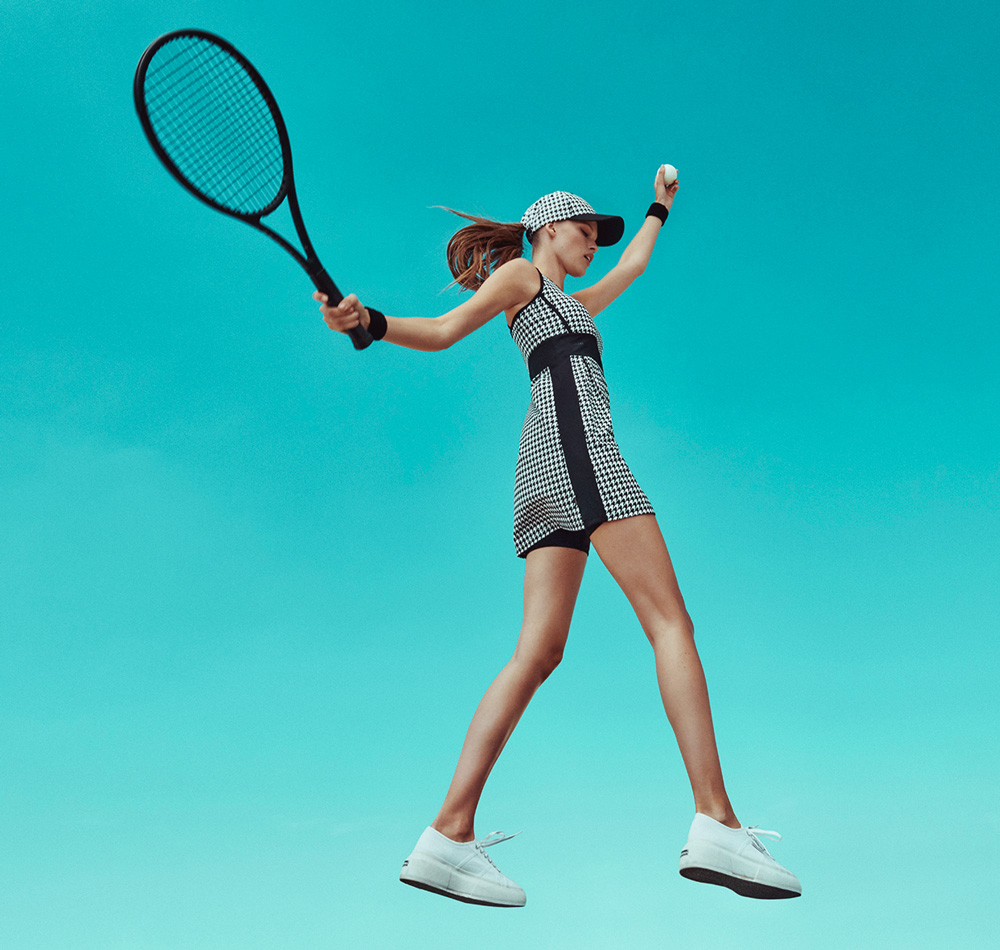 Posuňte svůj tenisový vzhled na další úroveň
